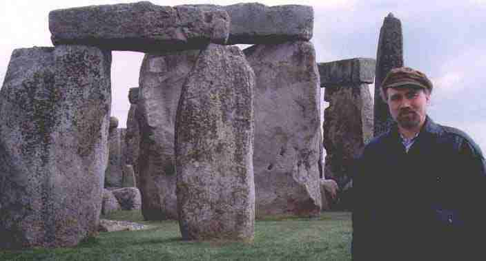 Mr. Skeptic at Stonehenge