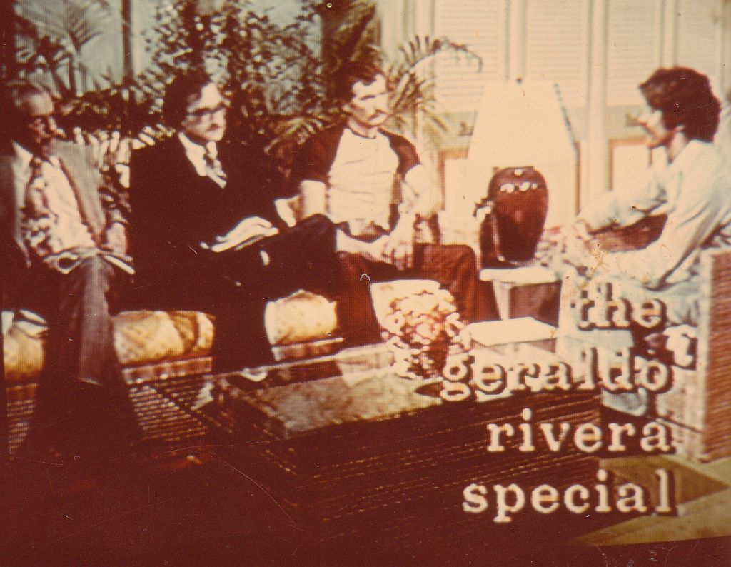 J. Allen Hynek, Robert Sheaffer, Travis Walton on Geraldo Rivera show, 1976