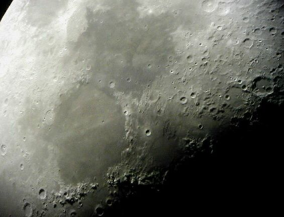My moon photo, March 31, 2001